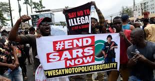 Nigerian Youth Join EndSARS Protest