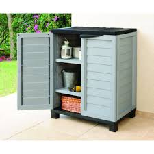 Outdoor Storage Cabinets With Shelves Cabinets - Exterior storage cabinets
