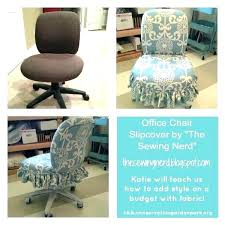office chair cover slipcover for the sewing nerd diy furniture offic office chair slipcover