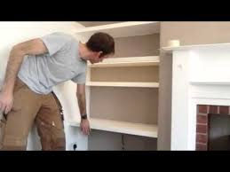 How To Build Floating Shelves In An Alcove Magnificent Floating Alcove Shelves With Integrated Lighting YouTube