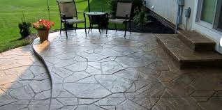 flagstone patio cost. Exellent Patio Overwhelming Concrete Patio Cost Stamped O Vs Throughout Flagstone
