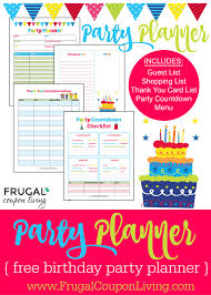 Party Planner Free Birthday Party Planner