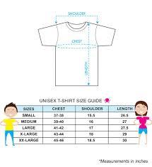 Online Shirt Size Chart