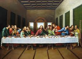 original picture of the last supper painting