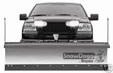 snow dogg buyers new 7 5 md snow dogg snow plow complete w wiring mount hardware
