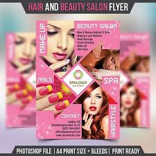 beauty salon brochure template free beauty salon flyer
