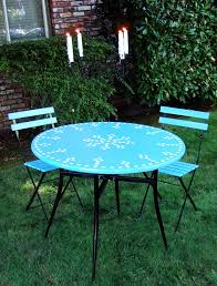 incredible mosaic bistro patio set dining room mosaic bistro table with black legs and double chairs