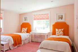 Orange Bedroom Decor Pink And Orange Bedrooms Facemasrecom