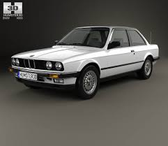 BMW 3 Series 1990 bmw 3 series : BMW 3 Series coupe (E30) 1990 3D model - Hum3D