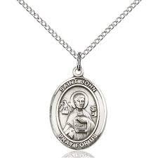 st john the apostle medal pendant 3 4