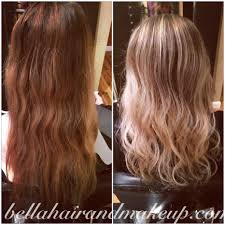 Before And After Corrective Balayage On