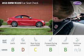 2016 bmw 2 series car seat check