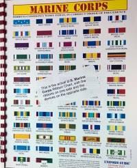 Marine Corps Ribbon Precedence Chart Military Ribbons