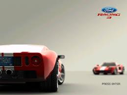 ford racing wallpaper. Wonderful Racing Ford Racing 3 Windows Title Screen On Wallpaper