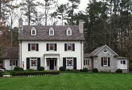 White shutters on house Window Classic Stan Dixon Designed House That Featured On My Blog Last Year click Here To See Full Post Things That Inspire Things That Inspire Classic White House Black Shutters