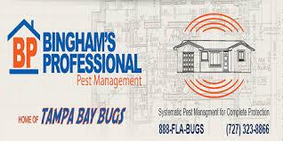 bingham pest control. Contemporary Bingham St Pete Businesses Choose Binghamu0027s Professional Pest Management For  Needs Petersburg Inside Bingham Control