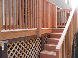 exterior wood railing. exterior handrail ideas for outdoor properties wrought wood railing