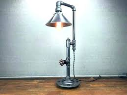 pvc floor lamp medium size of pipe floor lamp next lamps industrial fitter modern metal shade