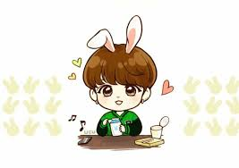 Unique bts stickers featuring millions of original designs created and sold by independent artists. Jungkook Chibi Fanart Novocom Top