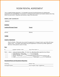 Rental Lease Agreement Example Simple Rental Agreement Resume Trakore Document Templates 21