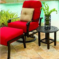 outdoor patio chair cushions for charming cortland cushion patio collection woodard family leisure outdoor