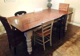 7 foot dining table