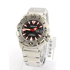 top 5 most durable men s watches buy it for life bifl seiko monster automatic black dial stainless steel mens watch srp313k2