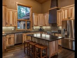 stained hickory cabinets.  Cabinets Kitchen Colors With Hickory Cabinets And Stained I