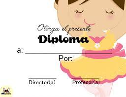 Diplomas Para Completar Fichas Escolares