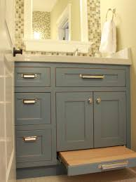 Country Bathroom Vanities HGTV - Bathroom cabinet remodel