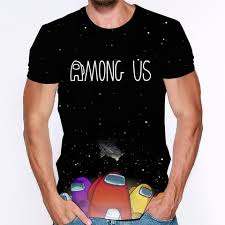 Buy Online 2020 Among Us 3d Print <b>Short</b>-<b>Sleeved</b> T-shirts <b>Men</b> ...