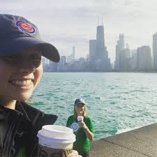 """Risk Placement Svs on Twitter: """"Will Run For Coffee! RPS' Christa Nadler  and Maddie Beja take on the Mag Mile in #Chicago for our """"There's No Place  Like Home"""" virtual 5K. To"""