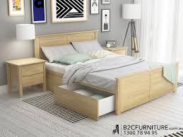 Queen Bedroom Furniture Dandenong Queen Bed Storage Modern B2c Furniture