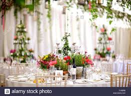 Hochzeit Event Oder Besonderen Anlass Tisch Dekoration Und