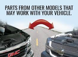 Interchangeable Car Parts Auto Parts Interchange Lookup