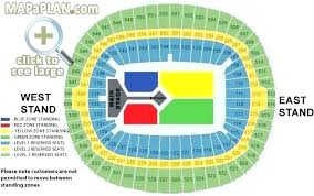 Mercedes Benz Stadium Seating Chart Georgia Dome Seating Map Herbalkecantikan Info