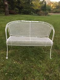 white iron garden furniture. Full Size Of Chair:contemporary Wrought Iron Bench Chair White Metal Garden Small Cast Furniture .