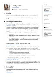 Full Guide Project Manager Resume 12 Samples Word Pdf