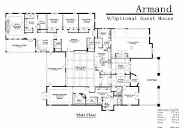 house plan with guest house best free home design