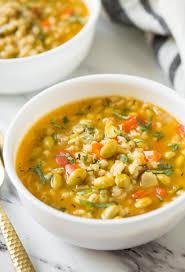 instant pot vegetable barley soup