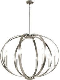 pewter chandelier