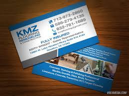 business cards design kmz flooring