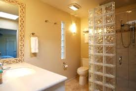 plano bath and glass bathroom remodel guest bathroom partial glass block shower wall and glass block plano bath and glass