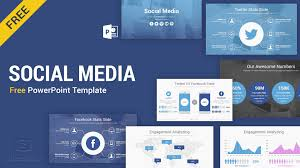 Pwerpoint Templates Social Media Free Powerpoint Template Ppt Slides Slidesalad