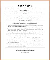 Resume Examples For Receptionist Healthcare Receptionist Resume Resume For Hospital Receptionist 39