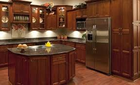 Small Picture Cherry Shaker Kitchen Cabinets RTA Cabinet Store
