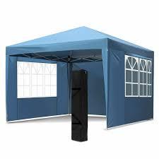 outdoor living used 10x20 ft ez pop up