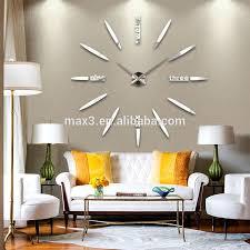 original brand 2016 hot new quartz clocks fashion watches 3d real big wall clock rushed mirror sticker diy modern design decor huge wall clocks huge wall