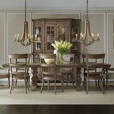 gorgeous pedestal dining room table furniture corsica rectangular pedestal dining table hayneedle