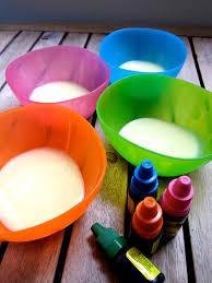 Edible Finger Paint Pintura Comestible Necesitas Leche